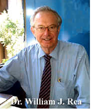 Visionary pioneer and clinician in environmental Illness, Dr. William J. Rea,  dies in Dallas. World loses the man who created the most comprehensive and  important environmental health clinic for the chemically sensitive,